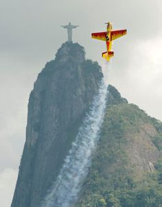 DID YOU SAY SOMETHING????  photo © Red Bull Air Race, Rio De Janeiro!  #redbull #brazil #riodejaneiro