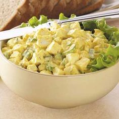 Better Than Egg Salad Recipe- Recipes  Tofu takes the taste and texture of egg salad in this quick-fixing sandwich from Lisa Renshaw of Kansas City, Missouri.