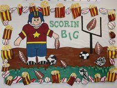 Scorin' BIG! - Sports Themed Bulletin Board