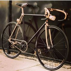 Copper bike by Uptown Riders