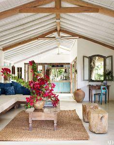 rustic living room | Wilbert Das