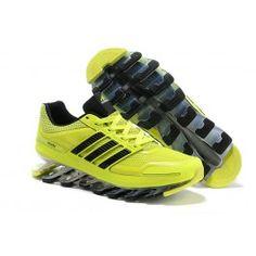 Nye Ankomst Adidas Springblade Drive Lysgrøn Sort Herresko Skobutik | Adidas Springblade V1 Skobutik Til Salg | Adidas Skobutik Billige | denmarksko.com