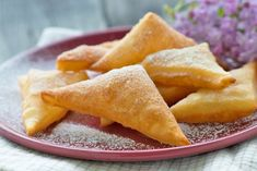 Sweet Recipes, Snack Recipes, Dessert Recipes, Snacks, Beignets, Pineapple, Chips, Food And Drink, Baking