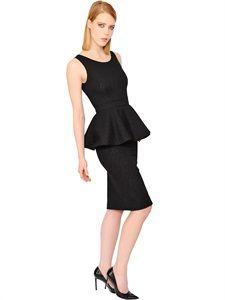 harlie embellished midi dress black�������� pinterest