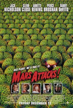 Mars Attacks! Movie Poster - Internet Movie Poster Awards Gallery
