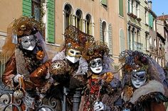 Carnevale in Venice, Italy  Photo by Per Lidvall  www.AspectusForma.com