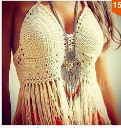 Top Crochet  Chị em bấm Hashtag #bikinicrochetlingeriie cho tiện theo dõi các mẫu nhé  - Hai màu : trắng  đen  hồng cà rốt. Chị em có thể đặt màu nhé. - Áo có mút lót - Giá 320k/em  #crochetbra #bikinicrochet #crochetbikini #crochettop #crochetbralette #sexycrochet #crochetsexy #beautifulcrochet #crochetbra #crochetforsummer #crochetforgirls by luxury.lingeriie