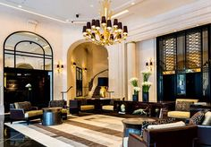Paris's Prince de Galles Hotel Returns to Its Glamorous Art Deco Roots