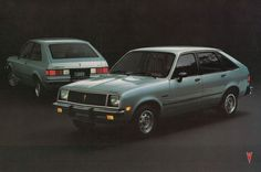 Pontiac T-1000.  My very first car.  Mine was white with burgundy interior and it left me stranded in downtown Cumberland, MD in 1988.