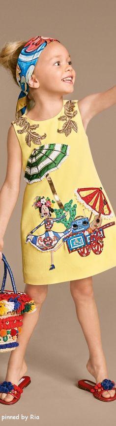 Dolce & Gabbana Kids l Carretto Siciliano l Summer 2016 l Ria