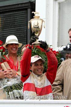 Joel Rosario celebrates
