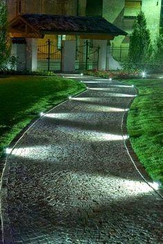 Create Led walkway lighting