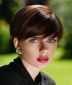 Christine Margossian Short Brown Hairstyles - Brilliant Stylist with a fabulous creative style and some of the best colour work I have ever seen. A huge fan - Redken Girl