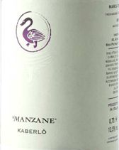 Kaberlò, Cabernet e Merlot, Le Manzane #naming #design #packaging #branding #etichette #vino