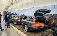 What do you when you have a spare Volvo v70 left, this is the answer. Picture by @lindakallefeldt. #volvo #volvov70 #volvotrailer #volvov70trailer #sweden #sverige #swedishmetal #madebysweden #volvocars #volvomoment #volvonation #volvooceanrace