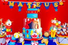 Festa de aniversário: Circo!