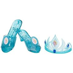 Disney Frozen Elsa Tiara and Shoe Set @ niftywarehouse.com #NiftyWarehouse #Nerd #Geek #Entertainment #TV #Products