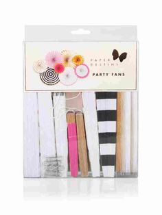 Get the party started with these chic assorted party fans that come in 8 different styles and sizes. Hang each one using the attached string loop or adhere to any wall! Get The Party Started, 30th Birthday, Punch, Fan, 30 Year Anniversary, Hand Fan