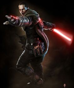 Apprentice Raxus. Star Wars: The Force Unleashed. In his Raxus Prime outfit
