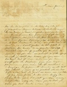 Letter to P. R. Bureau from R. M. Saugrain, February 7, 1838 | collections.mohistory.org