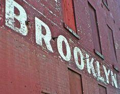 grafika Brooklyn, city, and wall