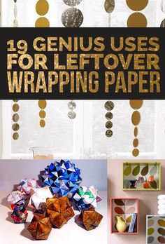 19 Clever Ways To Use Leftover Wrapping Paper