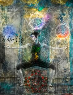 """Balancing The Chakras"" by Antaratma Images 