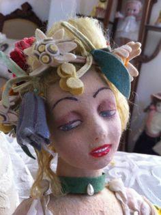 RARE Series 165 1927 Lenci Boudoir Cloth Felt Vintage Antique Genuine Doll | eBay