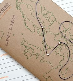 The Journey Journal - Europe | I love this!