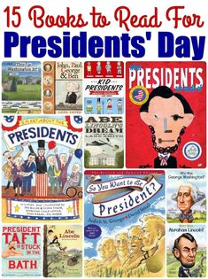 15 Presidents' Day Books for Kids