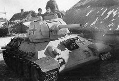 A T-34/76 in German service, Vitebsk Oblast, 1944
