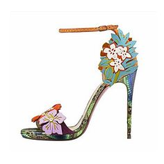 A truly summerish pair of heels. What outfit with you wear with them? Enjoy the summer sale discount of 80%