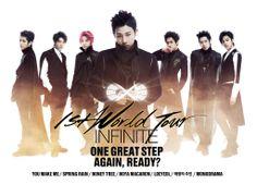 Infinite's 1st World tour: Sunggyu focus