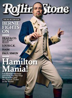 Lin-Manuel Miranda on the June 16, 2016 cover.
