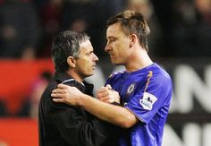 John Terry & Jose Mourinho
