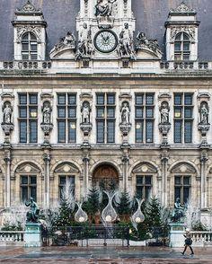 Christmas-Paris: Hôtel de Ville
