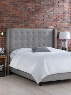 Jessa Bed in Pewter - Skyline on Joss & Main