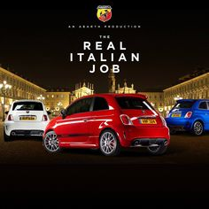 The Italian Job... the Abarth way!
