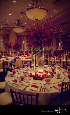 Red Wedding Ballroom