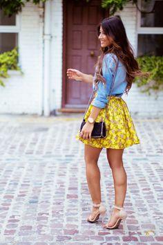 How To Style A Denim Shirt | 5 Ways — Mimi Ikonn