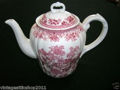 Bottom mark: made in Germany. Vintage tea pot. 7 in tall to finial on lid