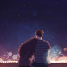 Красивые иллюстрации о любви