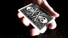 Bicycle® Skull & Bone playing cards