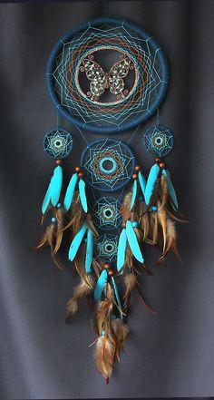 Capteur de rêve océan dreamcatcher talisman indien de couleur