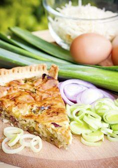 #Receta de #quiche recetas de #empanada verdura #recipe #dinner #vegetarian #cook