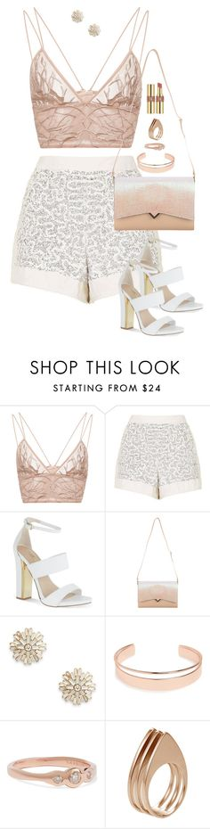 """Not going to bed"" by xoxomuty on Polyvore featuring Jonathan Simkhai, Topshop, Carvela, Sole Society, Leith, Carbon & Hyde, Ludevine and Yves Saint Laurent"