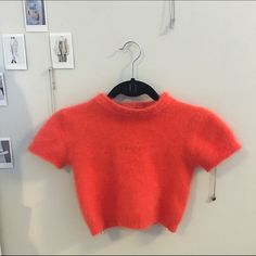Express Vintage Angora Cropped Sweater perfect for concerts / festivals! size xs, fits true to size. super super soft. 70% angora. UNIF Tops Crop Tops