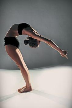 standing back bend #yoga