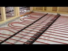 Thermal Mass Rocket Stove | Underfloor Heating System With A Rocket Mass Heater