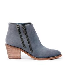 Bonny Double Zip Bootie - Nocturnal Ankle Booties, Bootie Boots, Shoe Boots, Shoes, Footwear, Flats, Handbags, Leather, How To Wear